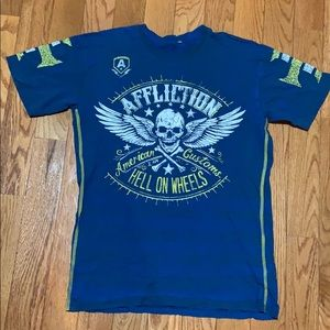 affliction men's shirt